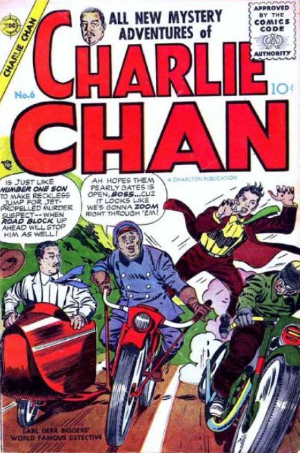 Kirby Charlton Comics Charlie Chan
