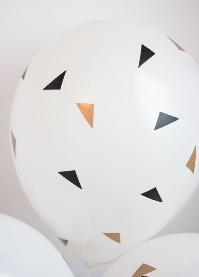 modern balloon decorations