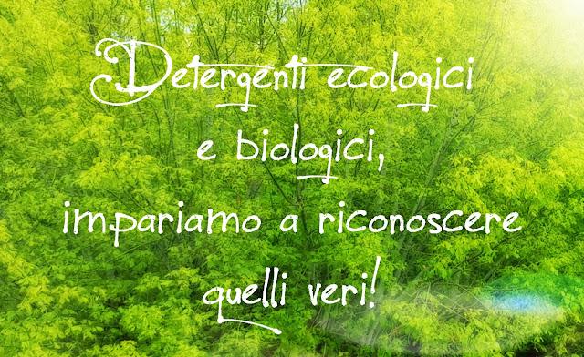 detergenti ecologici e biologici, impariamo a riconoscere quelli veri