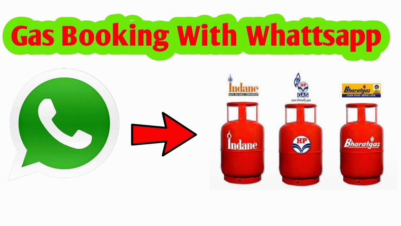 Indane gas booking WhatsApp number