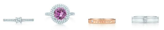 tiffany and co wedding band rose gold diamond
