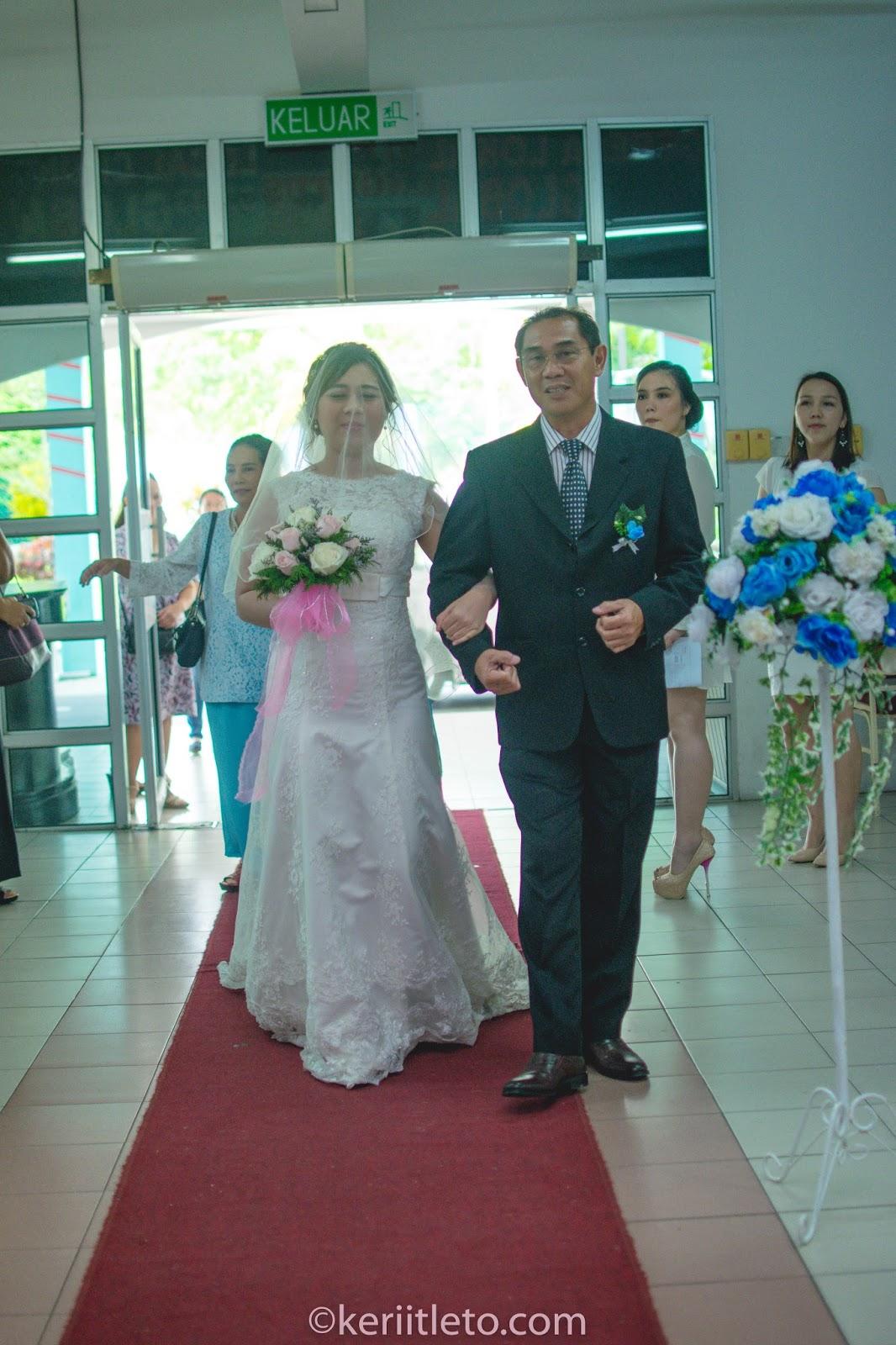 KERIITLETO: Nelsion & Alice Wedding Day - 2 Dec 2017