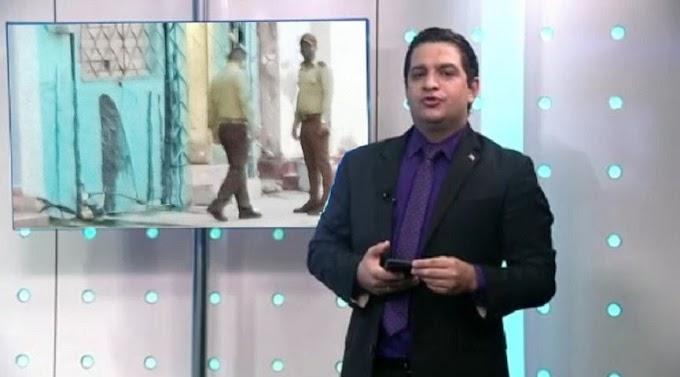 Decoran la casa de Humberto López con Chapapote, y le dejan un mensaje por el día de las madres