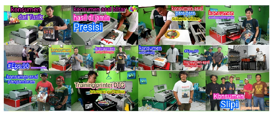 Mesin Sablon Printer DTG