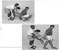 طريقة حمل شخص مصاب