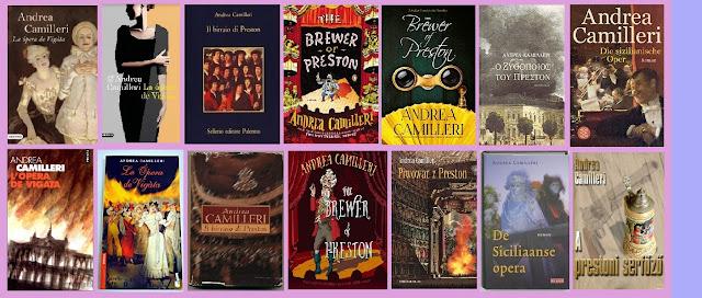 Portadas de la novela histórica La ópera de Vígata