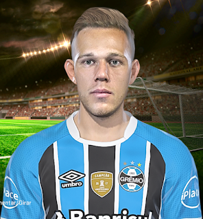 PES 2018 Faces Arthur by Kleytonscr