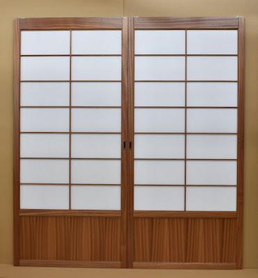 Custom Sapele Shoji screens