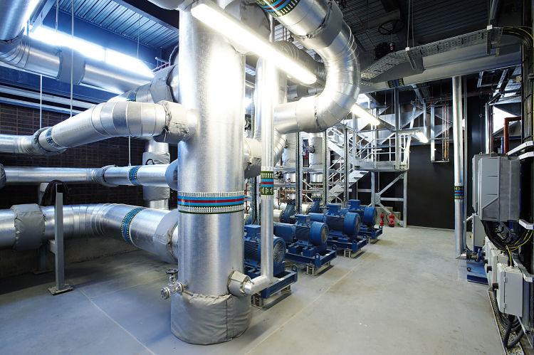 Sistema de transferencia de calor operativo