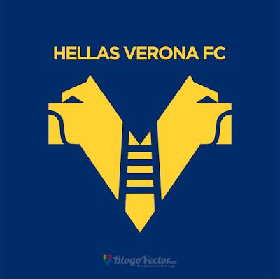 Hellas Verona F.C. Logo Vector