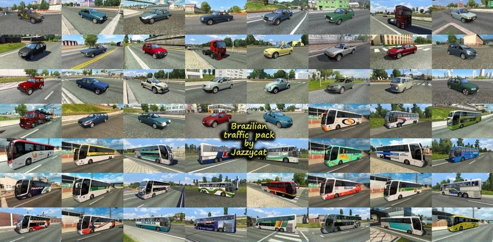 Jazzycat – Brazilian Traffic Pack 1.3.4
