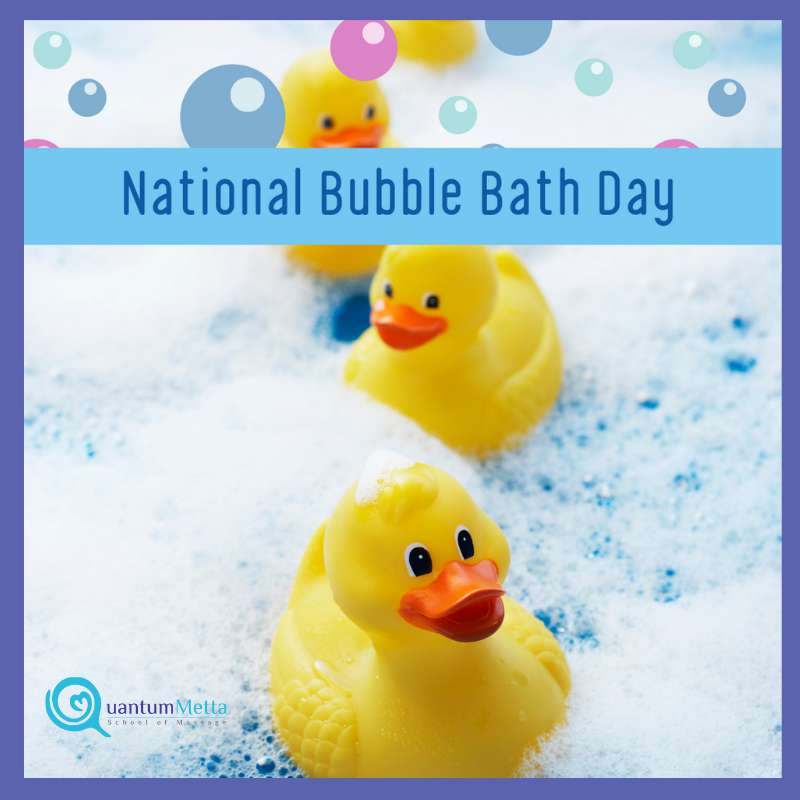 National Bubble Bath Day Wishes for Instagram
