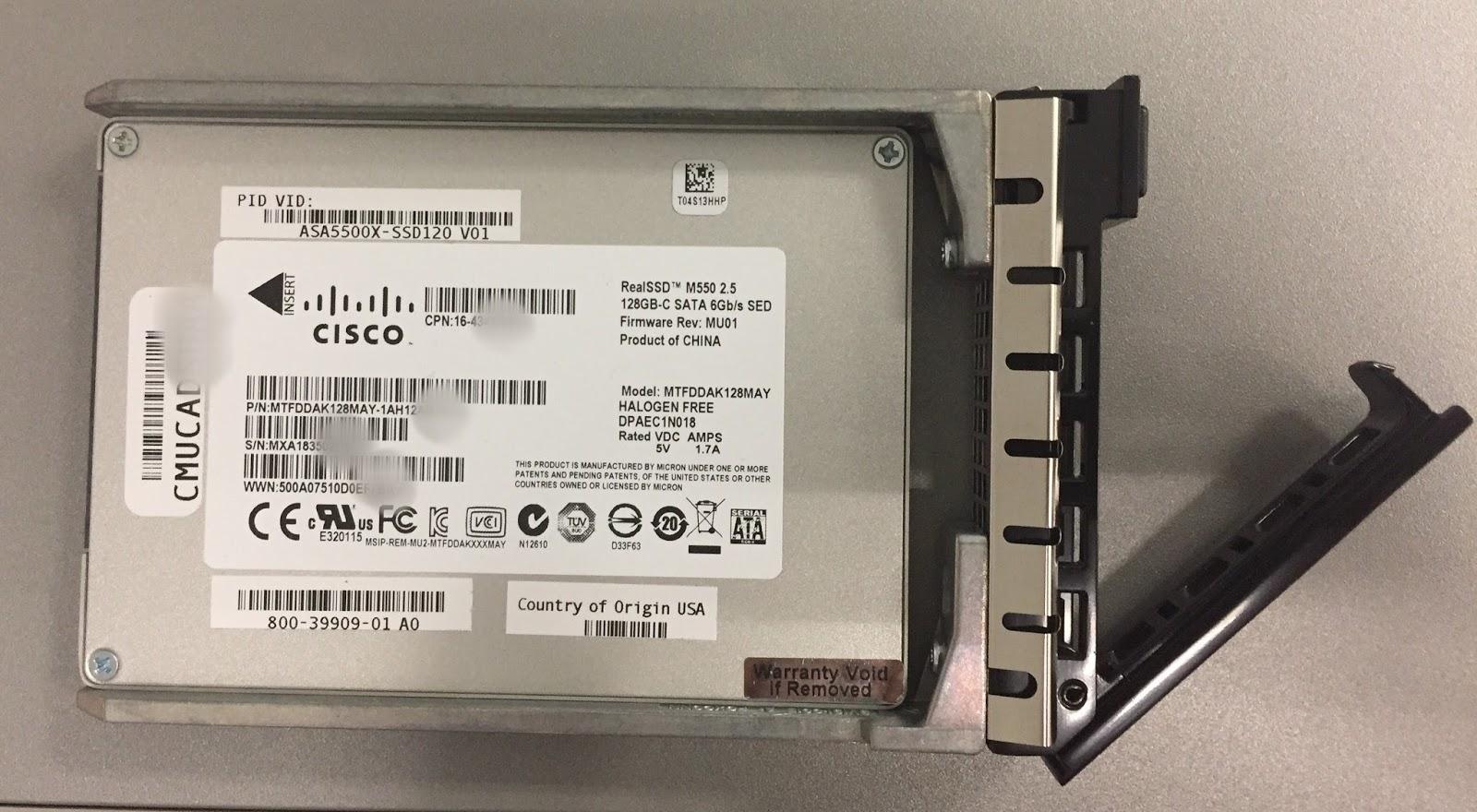 My Network Security Journal: Cisco ASA FirePower Module Upgrade