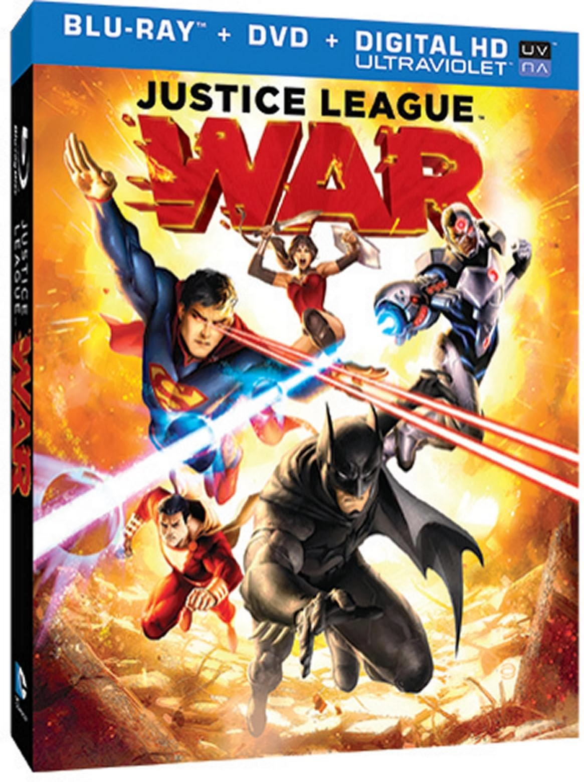 Justice League: War (2014) BluRay