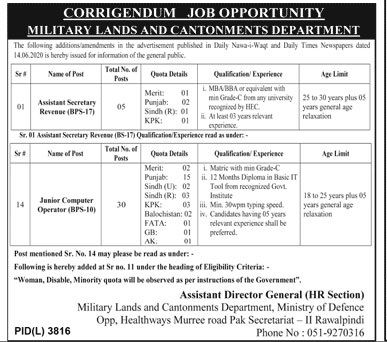 ministry-of-defence-latest-jobs-2020