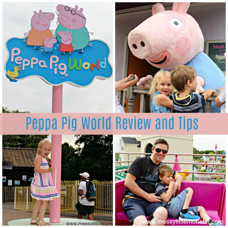 Peppa Pig World Review - Paultons Park Family Theme Park, UK. Review and tips for a day out with kids at Peppa Pig World.