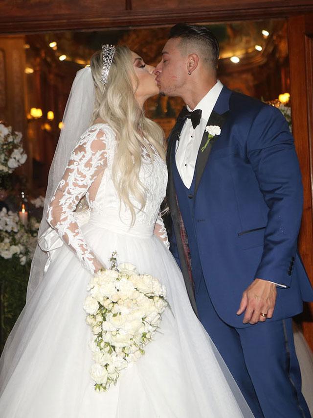 Juju Salimeni e Felipe Franco terminam casamento de quase dois anos. Foto: Casamento de Juju Salimeni e Felipe Franco. Foto: Iwi Onodera/EGO
