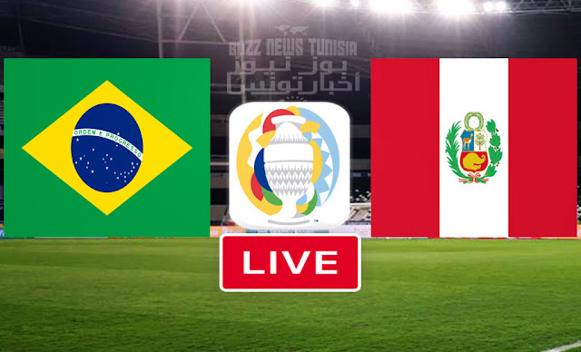 Match Brazil vs Peru Copa America 2021 Live Streaming