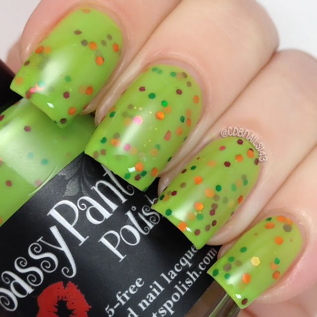 Sassy Pants Polish-Electric Tulip