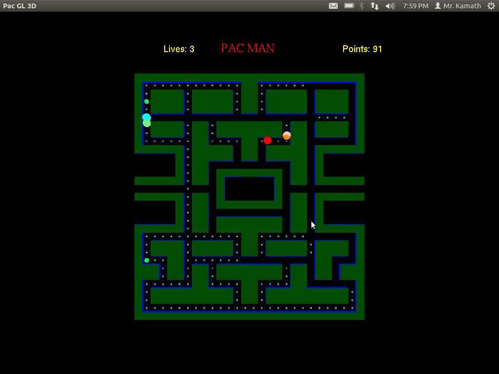 Graphics, Game Development and Digital Art: PacMan Game