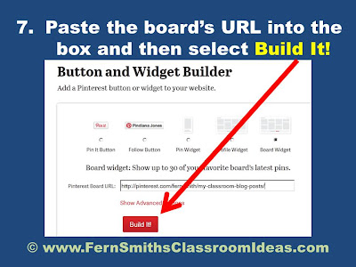 Fern Smith's Thursday's Tech Tips for Teachers Embedding a Pinterest Board Anywhere!