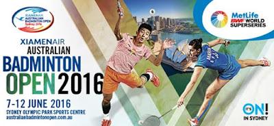 XIAMENAIR Australia Open 2016