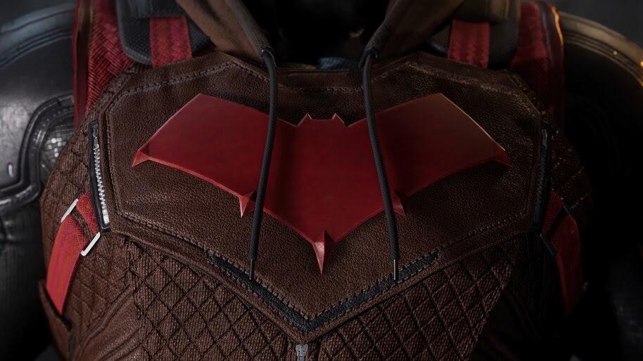 Gotham Knights, Red Hood, Logo, 4K, #3.2558
