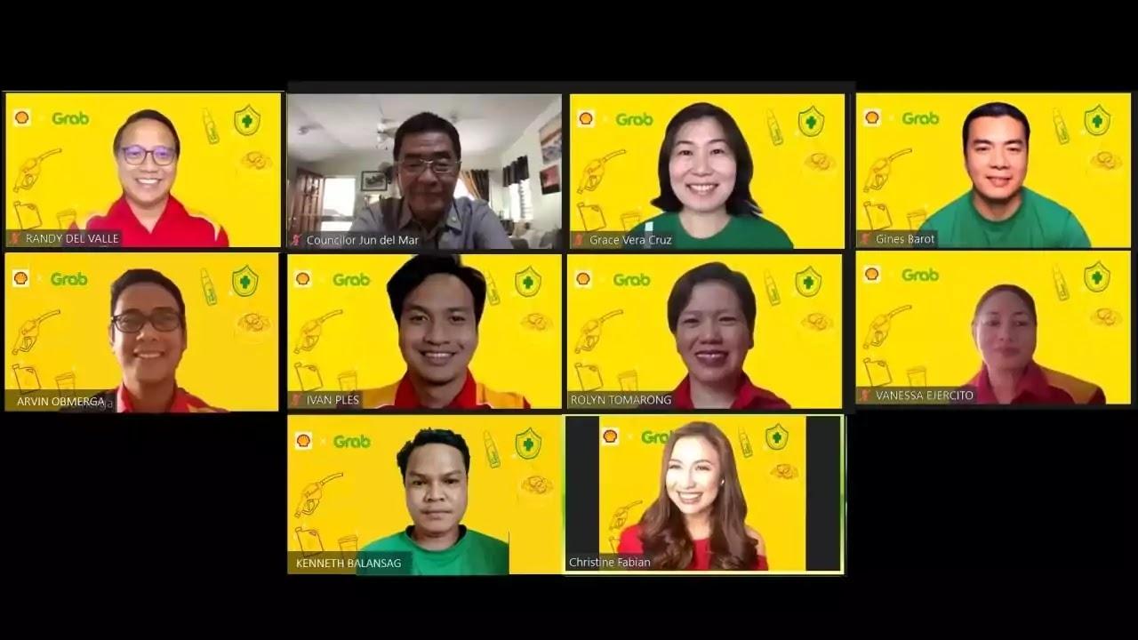 Pilipinas Shell and Grab PH team up