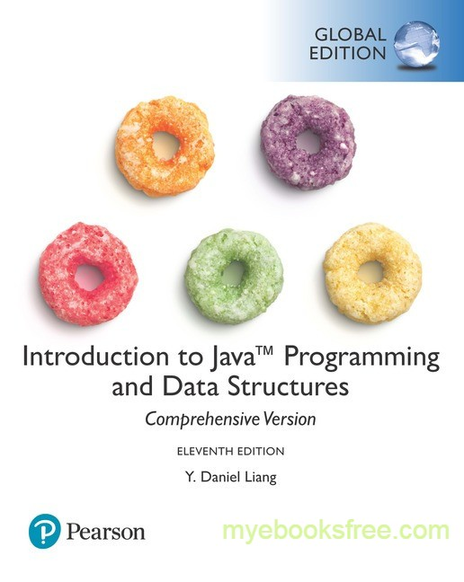 Introduction to Java Programming and Data Structures Pdf Download