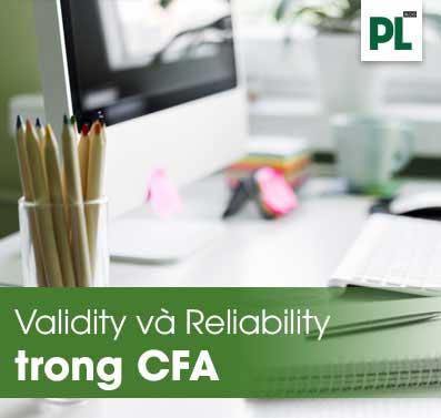 hội tụ, tính phân biệt và sự tin cậy trong phân tích CFA