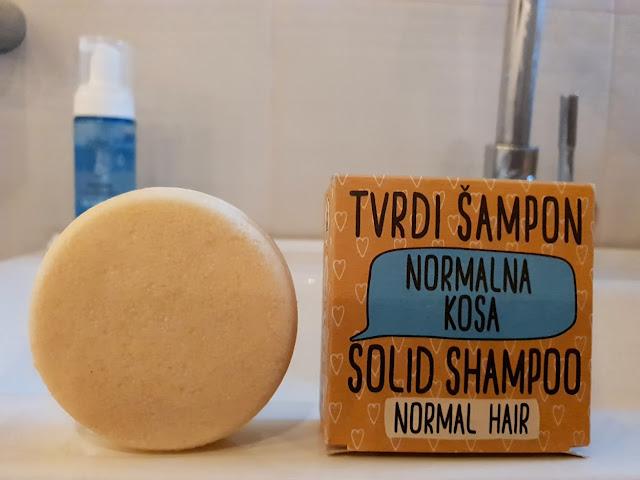 tvrdi šampon