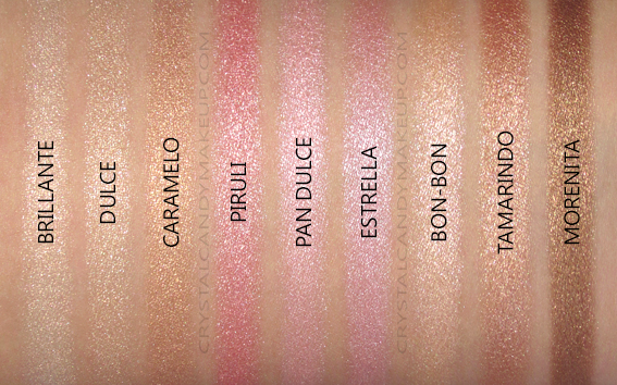 Pixi Dulce Candy Café con Dulce Multi-Use Palette Review Swatches
