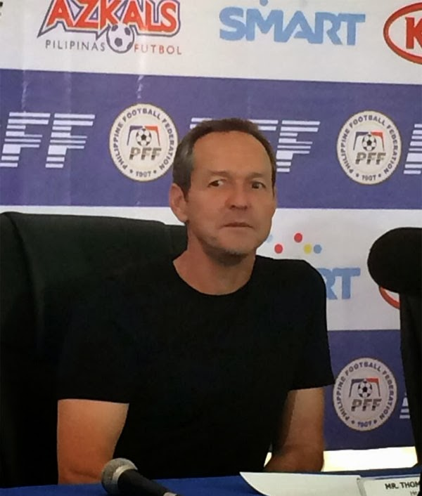 thomas dooley new azkals coach