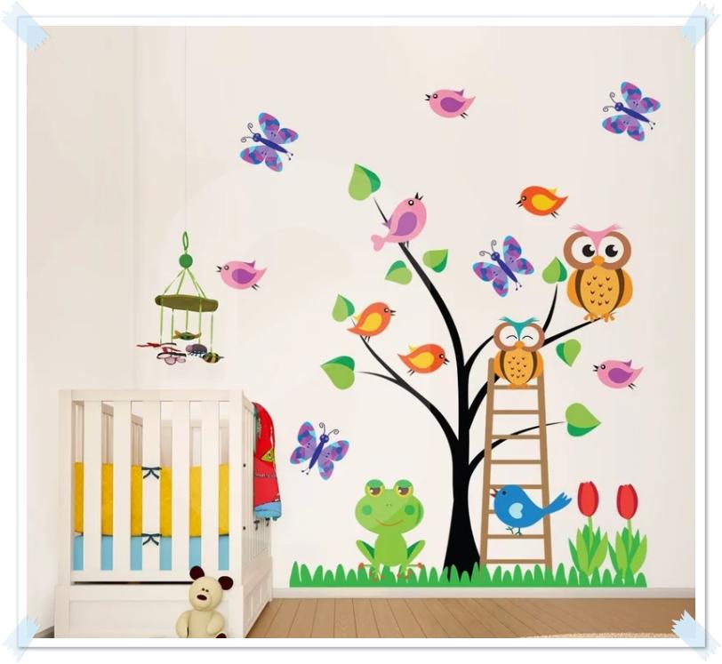 fe1d59ec756 Διακόσμηση παιδικού (κι όχι μόνο) δωματίου με αυτοκόλλητα απο το Sticky.gr