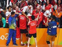 Tontowi/Liliyana Persembahkan Medali Emas Sebagai Hadiah #RI71