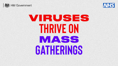 Words only Viruses thrive on Mass gatherings