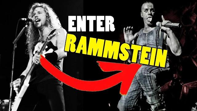 "Alguien adaptó ""Enter Sandman"" de Metallica al estilo de Rammstein"