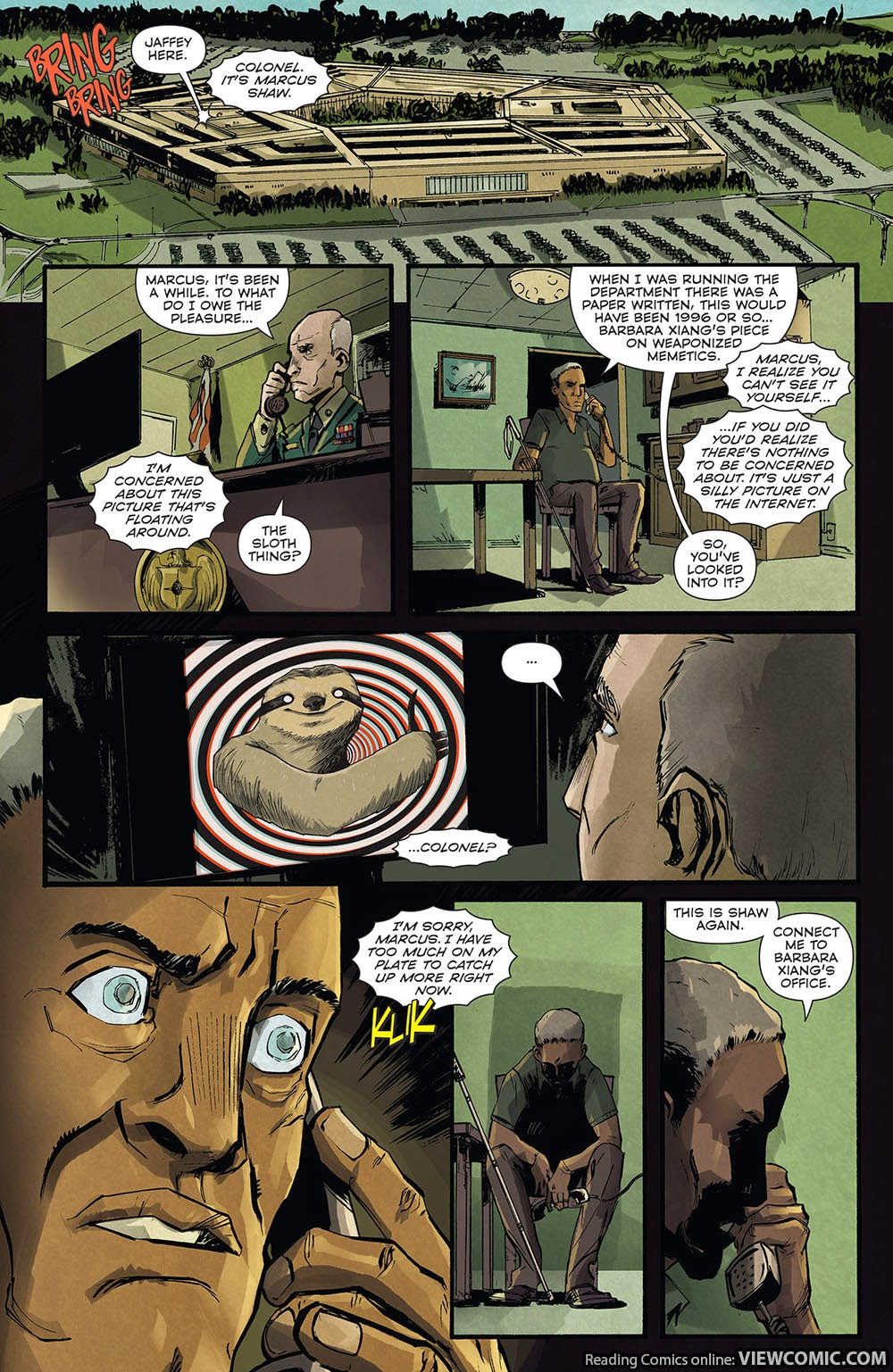 Memetic 01 (of 03) (2014) ……………………… | Viewcomic reading