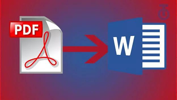 طريقة تحويل ملف Word الي PDF