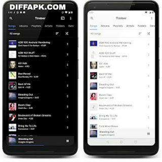 TimberX Music Player Apk v1.7 [Patched]