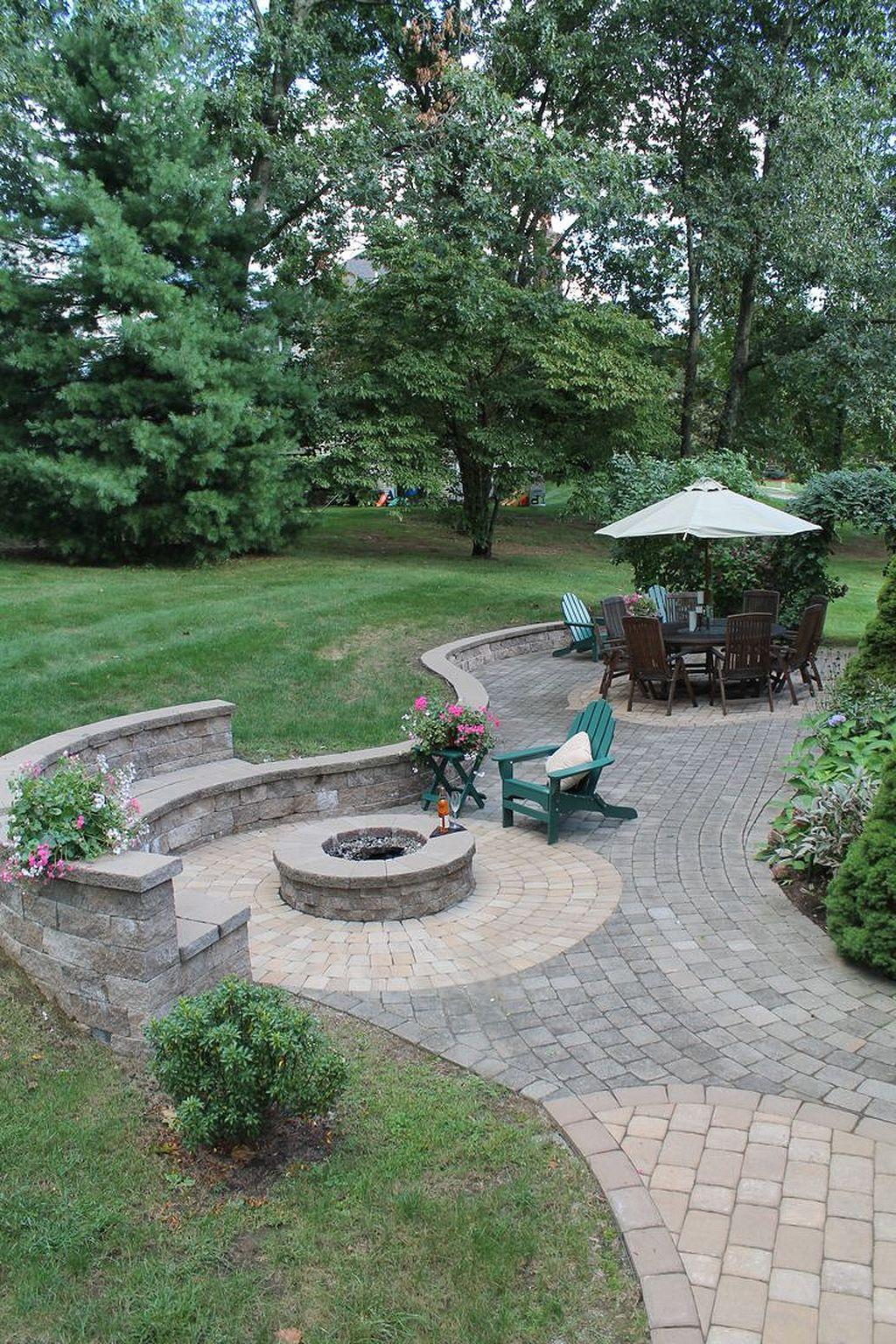 Most Popular Backyard Paver Patio Design Idea