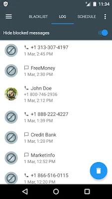 Aplikasi Call Blacklist