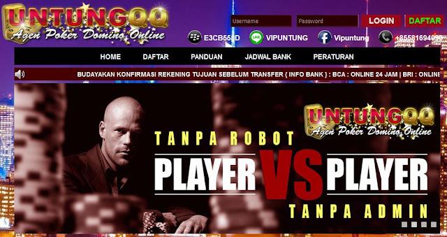 Situs Judi Poker yang Termurah dan Terlengkap hanya di Untungqq!
