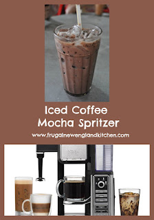 Easy Chilled Mocha Iced Coffee Spritzer Drink Recipe
