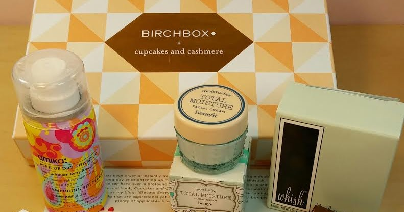 Birchbox X Cupcakes And Cashmere May 2015 Review And $1