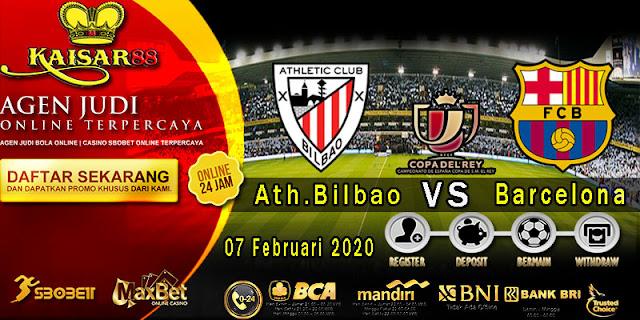 Prediksi Bola Terpercaya Liga Spanish Cup Athletic Bilbao Vs Barcelona 07 Februari 2020