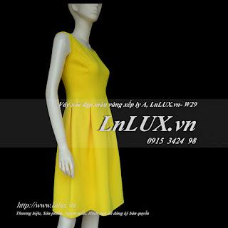 lnlux.vn-vay-xoe-dep-mau-vang-xep-ly-a-lnluxvn-w29