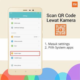 Cara Mengaktifkan Fitur Barcode Pada Kamera Xiaomi