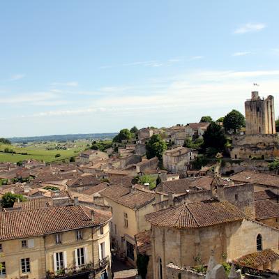 Saint-Emilion is a beautiful little town.