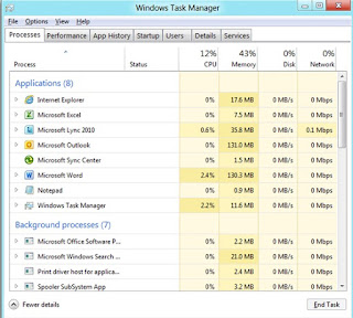 windows 8 task manager windows 8